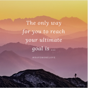 The only way to reach your goal, secret of reaching your goal, goals vs. intentions