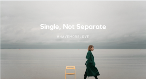 being single not separate or alone